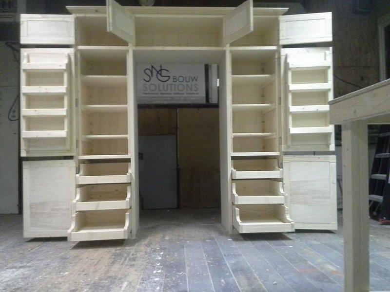 Keukenkast Op Maat : Op maat gemaakte keukenkast sng bouw solutions